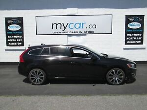2015 Volvo V60 T6 Premier Plus RARE CAR, LEATHER, SUNROOF, HE...