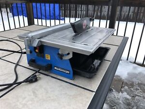 Wet tile saw for sale