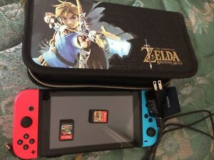 Nintendo Switch Console GUC with games