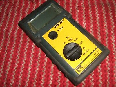 Ideal Megger Insulation Continuity Tester 61-791 Excellent Condition Complete