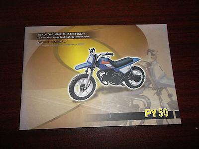 (PY 50 Owners Manual FACTORY OEM Owner's Off Road Motorycle Dirt Bike)