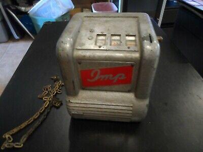 Vintage 1940's Imp Trade Stimulator w/Key Working Condition Gumball Slot Machine