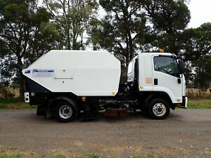 TIDY ISUZU FRR600 TRUCK MOUNTED SCHWARZE A5500 SWEEPING BODY ROAD FACTORY ASPHALT SWEEPER Austral Liverpool Area Preview