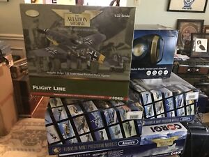 Large Collection of Die-cast Planes etc. for sale.