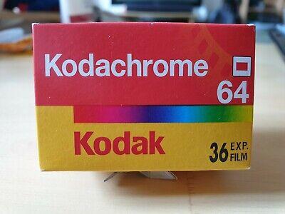 Kodak Kodachrome 64 36exp 35mm 135 expired 08/2005 Slide Film