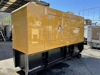 125 Kw Cat Caterpillar D125p2 Diesel Generator Set W Perkins Engine