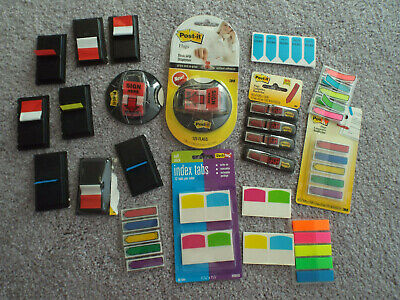 Big Lot Assorted Post-it Flags Sign Here Flags Sticky Tabs And Flags