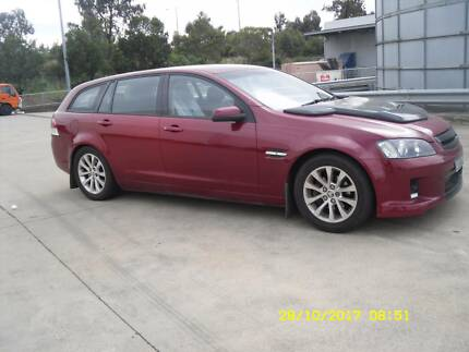 2008 Holden Commodore Wagon REG and RWC 7 Seat