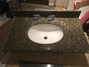 36 inch granite top for vanity