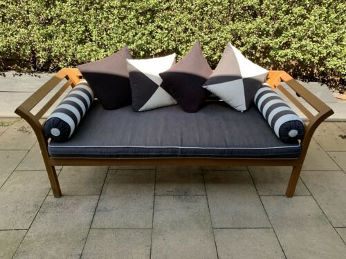 Garden Furniture - Timber Wood Outdoor Furniture Daybed