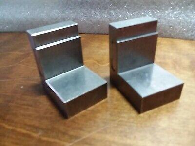Pair Of Precision Angle Plates 1.5- X 2.125- X 2-