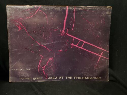 JAZZ AT THE PHILHARMONIC 18th National Tour Program  Norman Granz 1957