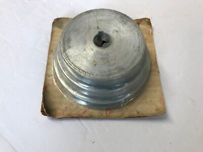 Nos Chicago 149 3 Step Pulley 58 Bore 3 3 12 4 Lathe Drill Press