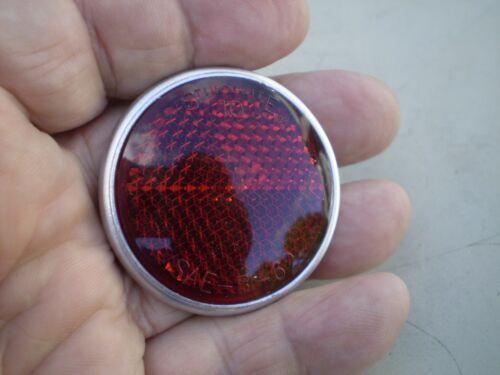 Gulotta 375 Stimsonite 10 Red 1 3/4 Bicycle Reflector Schwinn Shelby Monark