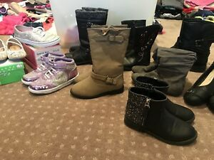 Girls shoes & boots exc. cond. size 11-5