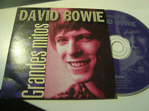 RAR-CD-DAVID-BOWIE-GRANDES-MITOS-5-TRACKS-ED-CARToN-MADE-IN-SPAIN