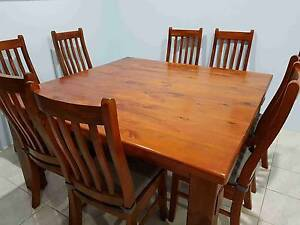 9 Piece Dining Set Landsdale Wanneroo Area Preview