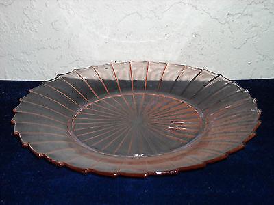 Sierra Dinner Plate As Is  Pink
