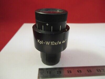 Zeiss Germany Eyepiece Kpl-w 10x18 464043 Microscope Part As Pictured 12-a-40