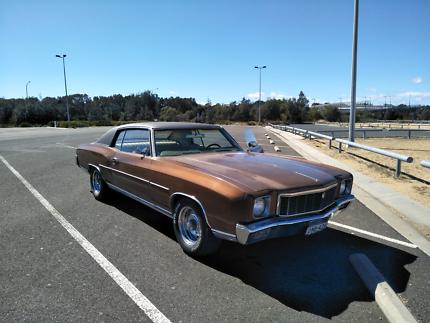 1971 Chevrolet Monte Carlo, a chevelle in a tux