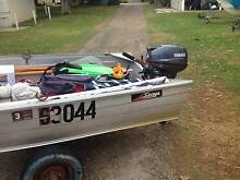Savage 12FT Dinghy with Yamaha 15 horse (2 Stroke) Engine Dianella Stirling Area Preview