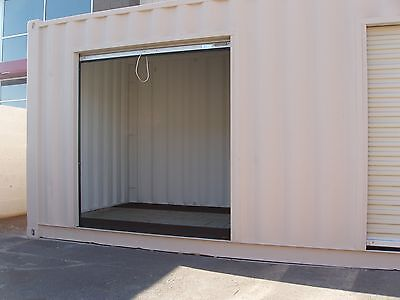 Portable Shipping Container Conex Storage building with two roll up doors & Portable Shipping Container Conex Storage building with two roll ... Pezcame.Com