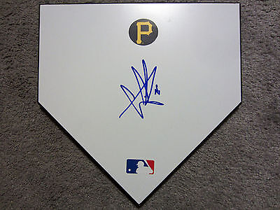 GREGORY POLANCO Pittsburgh Pirates SIGNED Autographed Home Plate Base w/COA