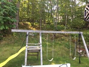 Swing set- needs some TLC