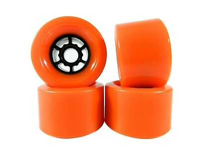 Blank Pro 90mm x 52mm Longboard Wheels Orange Flywheels