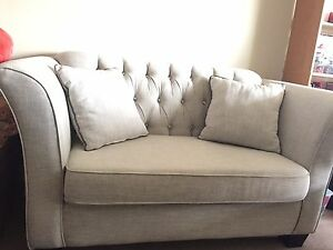 Beautiful and comfortable love seat