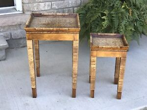 2 accent tables