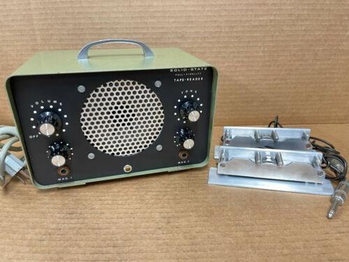 Ediquip 1027-B Solid State Tape Reader Amp Film Movie Reel