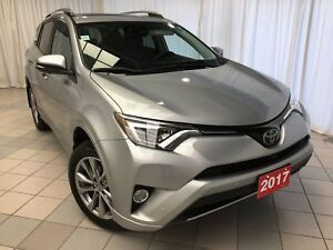 2017 Toyota RAV4 Limited: Low kms