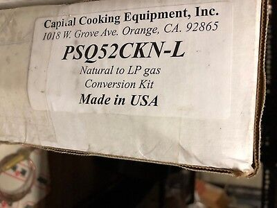 Capital Gas Grill Propane Conversion Kit PSQ52CKN-L