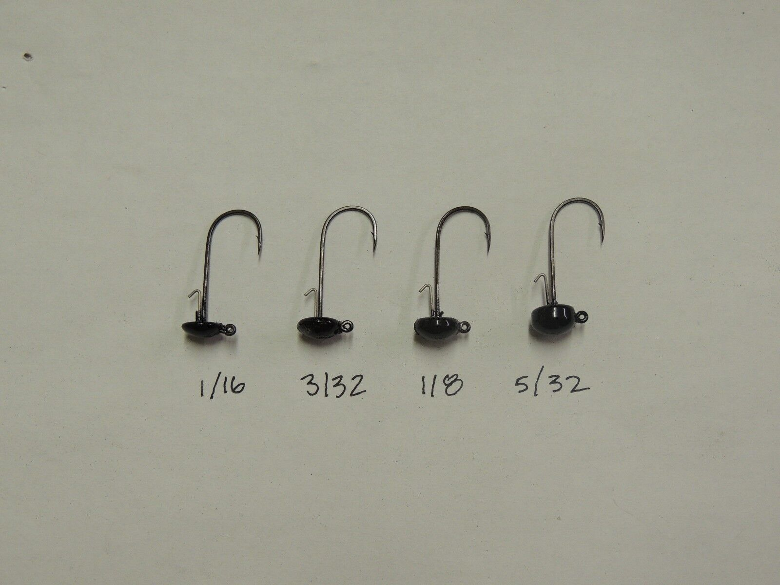 XSTRONG OWNER  HOOKS 12 ASSORTED NED RIG JIG HEADS 4 COLOR CHOICES