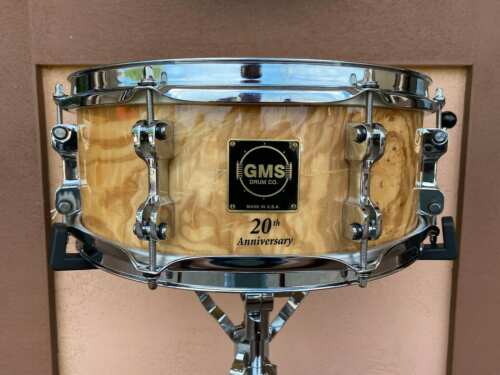 GMS 5.5x14 20th Anniversary Snare Drum #02