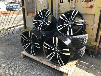 "4 x 19"" COMPETITION GTS CONCAVE STYLE ALLOY WHEELS & TYRES TO FIT BMW"