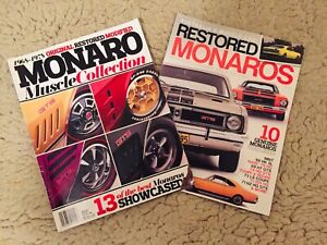 Holden Monaro magazines, two of Wantirna Knox Area Preview