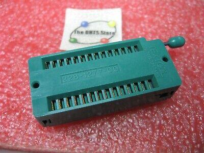 Zif Ic Socket Dip 28 Pin Textool 228-1277-00 - Nos Qty 1