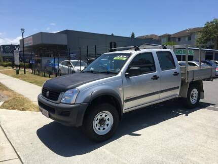 2004 Holden Rodeo Ute/  4x4/ dual cab/ drives great Labrador Gold Coast City Preview
