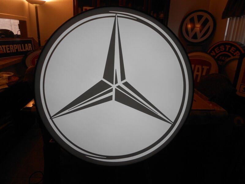 Mercedes Benz Lighted Sign