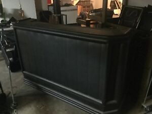 Portable bar came out of night club