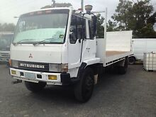 1985 Mitsubishi FK515 turbo diesel flat tray truck Margate Kingborough Area Preview