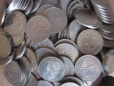 40 x 2 DM Münzen für alte Automaten, Geldspielgeräte, Flipper usw.