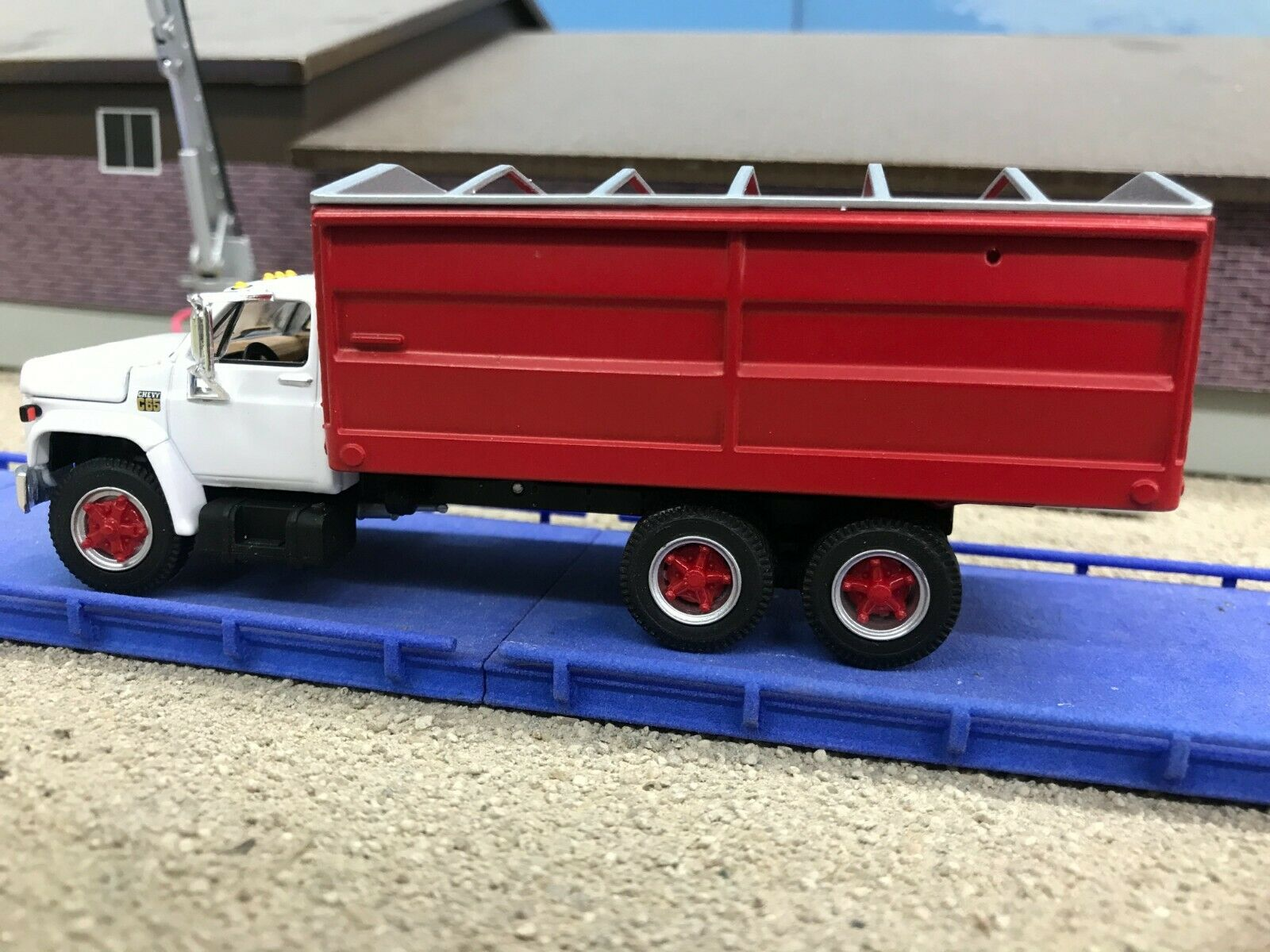 Custom 1.64 Scale DCP First Gear Chevy C65 with 18' bed