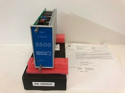New In Original Box Bently Nevada 350015 Power Supply 127610-01