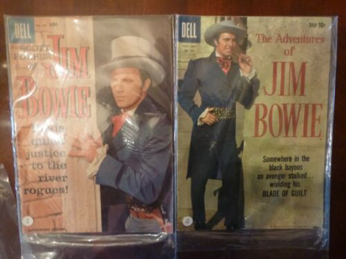 Jim Bowie- Dell COMICS, 1 & 2