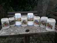 8 Bierkrüge Parchim - Landkreis - Parchim Vorschau