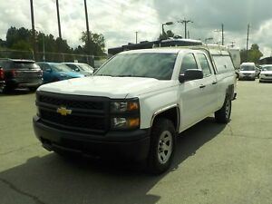 2015 Chevrolet Silverado 1500 Double Cab Short Box 4WD W/ Canopy