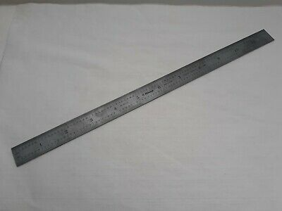 Mitutoyo 182-125 Stainless Hardened Scale 12 In 32nds 64ths 305 Mm 12mm